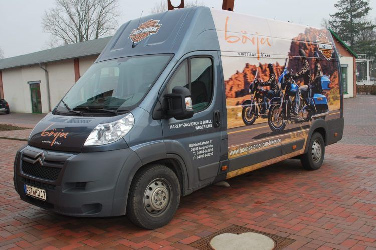 Transportmodus und PIN-Eingabe Harley-Davidson