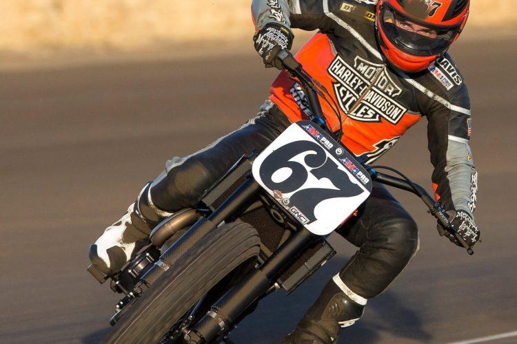 Harley-Davidson präsentiert die neue Rennmaschine XG750R.