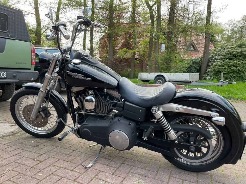 Harley-Davidson Street Bob - Vor Umbau 2021