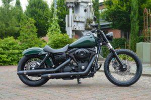 Harley-Davidson Street Bob 2009 Umbau