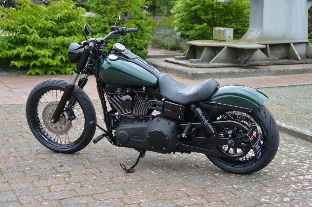 Harley-Davidson Street Bob - Umbau 2021